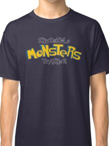 Invisible Pokemon Monsters Trainer Classic T-Shirt