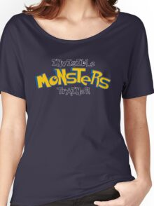 Invisible Pokemon Monsters Trainer Women's Relaxed Fit T-Shirt