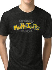 Invisible Pokemon Monsters Trainer Tri-blend T-Shirt