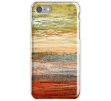 Morning Glow - Oil Pastel iPhone Case/Skin