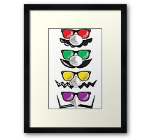 -GEEK- Mario's Familly  Framed Print