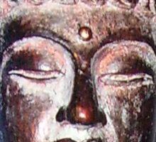 Buddha Head Sticker
