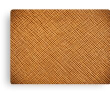 Vintage Natural Brown Leather Texture Background Canvas Print