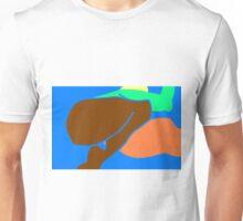 female hurdle jumper -(240610)- mouse drawn/ms paint Unisex T-Shirt