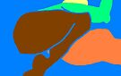 female hurdle jumper -(240610)- mouse drawn/ms paint by paulramnora