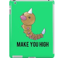 Weedle Make you high - funny pokemon go iPad Case/Skin