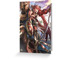 Fire Emblem Fates - Selena (Bow Knight) Greeting Card