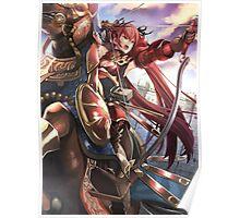 Fire Emblem Fates - Selena (Bow Knight) Poster