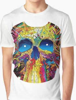 Psychedelic Skull Graphic T-Shirt