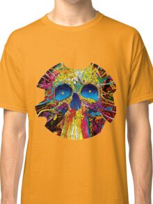Psychedelic Skull Classic T-Shirt