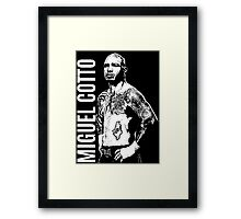 Miguel Cotto Framed Print