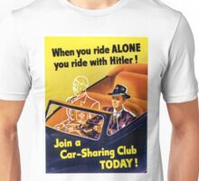 Vintage poster - Car-Sharing Club Unisex T-Shirt