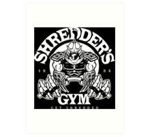 Shredder's Gym Art Print