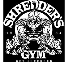 Shredder's Gym Photographic Print