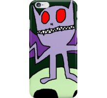 """Wacky Bat"" by Richard F. Yates iPhone Case/Skin"