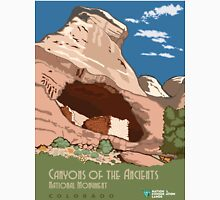 Vintage poster - Canyons of the Ancients Unisex T-Shirt