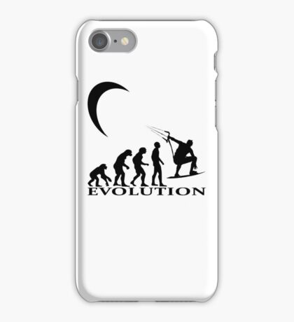 kitesurfen evolution iPhone Case/Skin