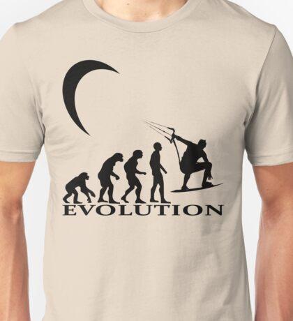 kitesurfen evolution Unisex T-Shirt