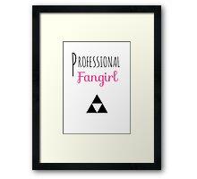 Professional Fangirl - Legend of Zelda Framed Print