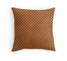 Vintage Natural Brown Leather Texture Background Throw Pillow