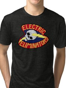 ELECTRIC ELIMINATORS GANG - THE WARRIORS  Tri-blend T-Shirt