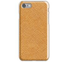 Vintage Natural Brown Leather Texture Background iPhone Case/Skin