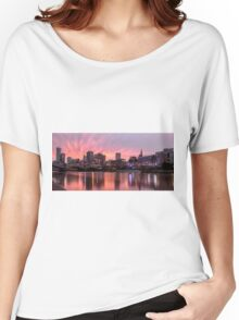 Princes Bridge Sunset, Melbourne Women's Relaxed Fit T-Shirt