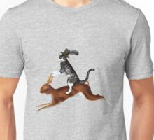 Cat Hare Unisex T-Shirt