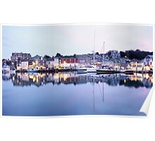 """Evening At Padstow Harbour"" Poster"