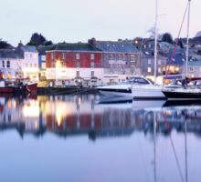 """""""Evening At Padstow Harbour"""" Sticker"""