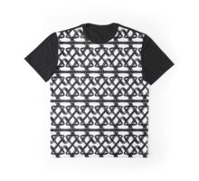 Black and white oranment Graphic T-Shirt