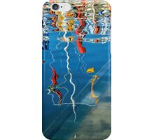 Wibbly Wobbly Flagpole Reflections iPhone Case/Skin