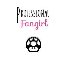 Professional Fangirl - Super Mario Photographic Print