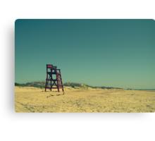 Deserted Beach Canvas Print