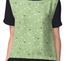 Honey Bees Flying Chiffon Top