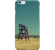 Deserted Beach iPhone Case/Skin