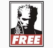 Vergil Free Obey Design Kids Tee