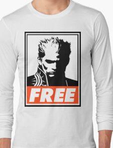 Vergil Free Obey Design Long Sleeve T-Shirt