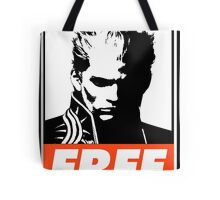Vergil Free Obey Design Tote Bag