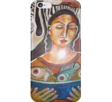 A Fisher Women iPhone Case/Skin