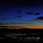 Hobart early morning by Andrew Bonnitcha