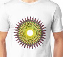 Psychedelic Spiro Circle Unisex T-Shirt