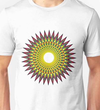 Psychedelic Spiro Circle Unisex T-Shirt