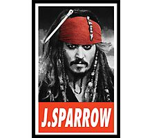 (MOVIES) Jack Sparrow Photographic Print