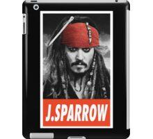 (MOVIES) Jack Sparrow iPad Case/Skin