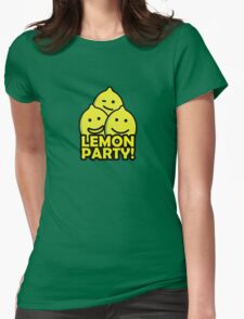 Lemon Party! Womens Fitted T-Shirt