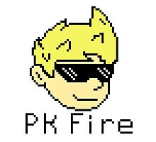 Pk Fire- Lucas (Mother 3) Photographic Print