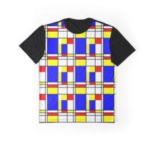 Piet Mondrian-Inspired 2 Graphic T-Shirt