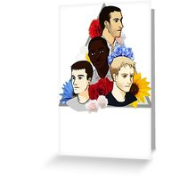 Sense 8 Boys Greeting Card
