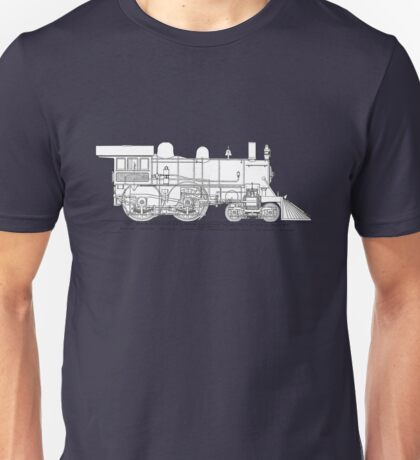 1893 World's Fastest Steam Locomotive Engine Unisex T-Shirt
